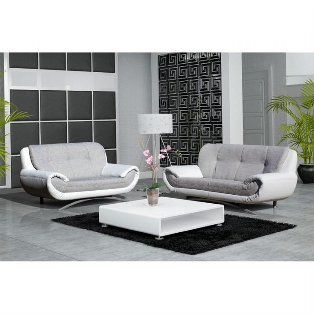 photos canap 2 places tissu pas cher. Black Bedroom Furniture Sets. Home Design Ideas