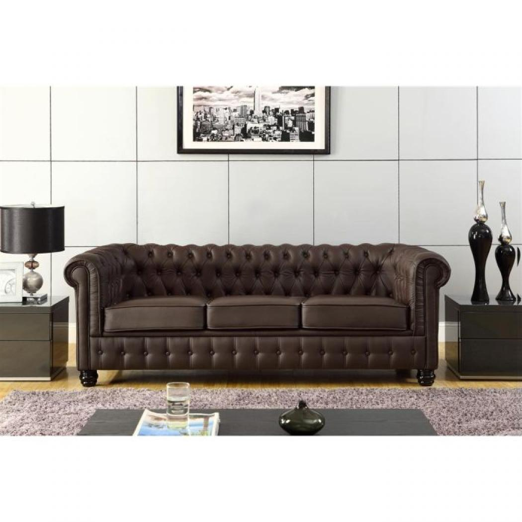photos canap chesterfield cuir. Black Bedroom Furniture Sets. Home Design Ideas