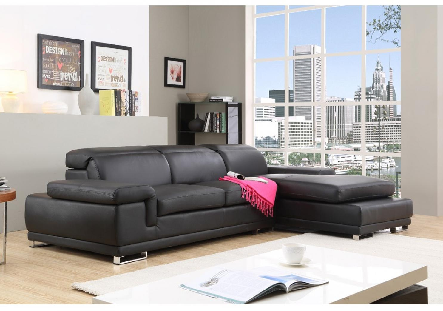 photos canap d 39 angle cuir pas cher conforama. Black Bedroom Furniture Sets. Home Design Ideas