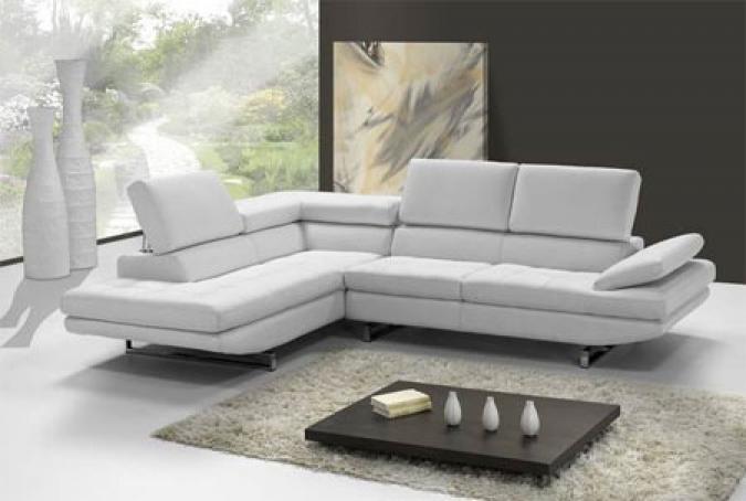 photos canap d 39 angle cuir design pas cher. Black Bedroom Furniture Sets. Home Design Ideas