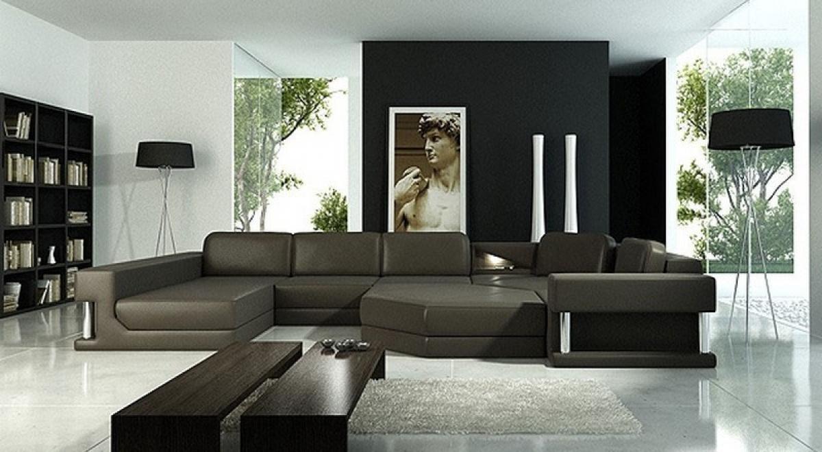 Emejing les plus design des salons dangle italienne photos - Salon en cuir design italien ...