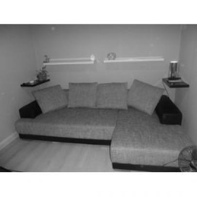 photos canap d 39 angle gris chin conforama. Black Bedroom Furniture Sets. Home Design Ideas