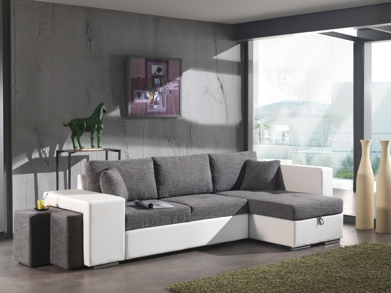 photos canap d 39 angle tissu convertible pas cher. Black Bedroom Furniture Sets. Home Design Ideas