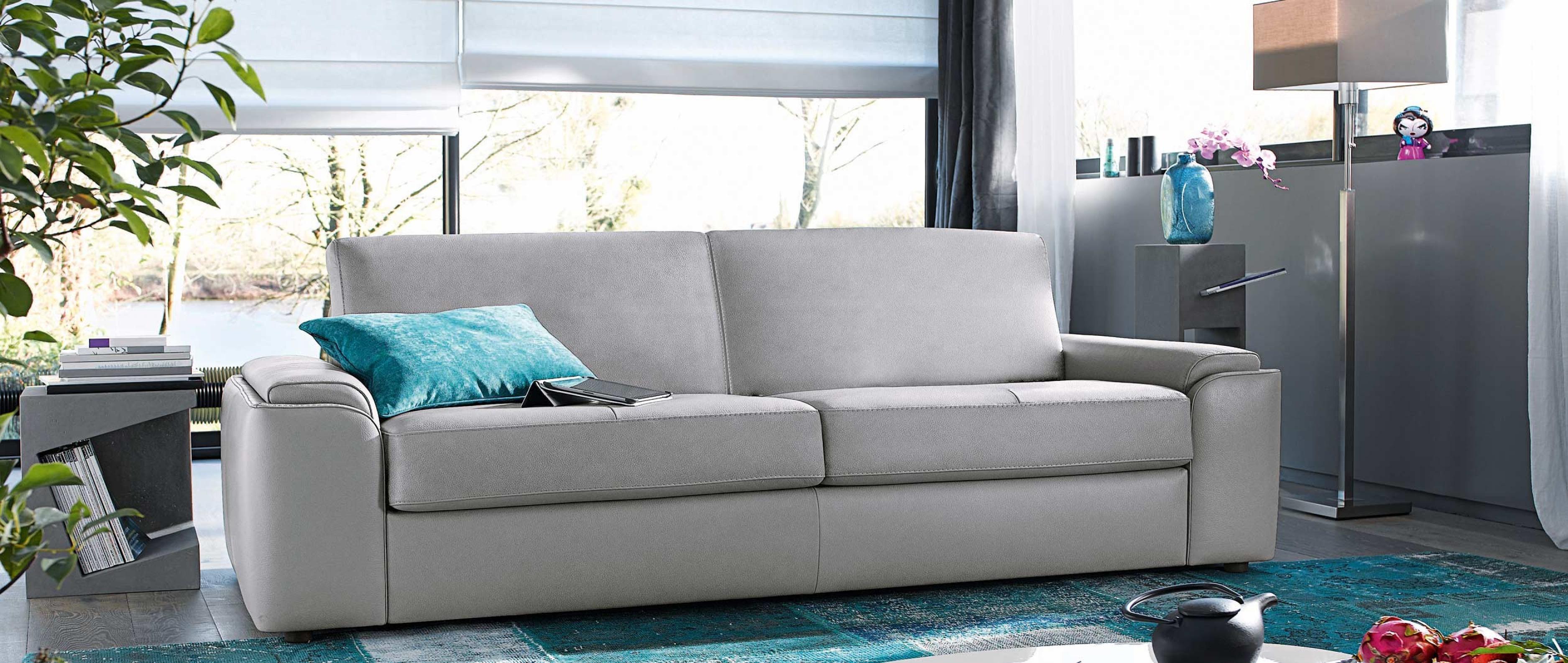 Canapé convertible 2 places cuir center Royal Sofa idée de