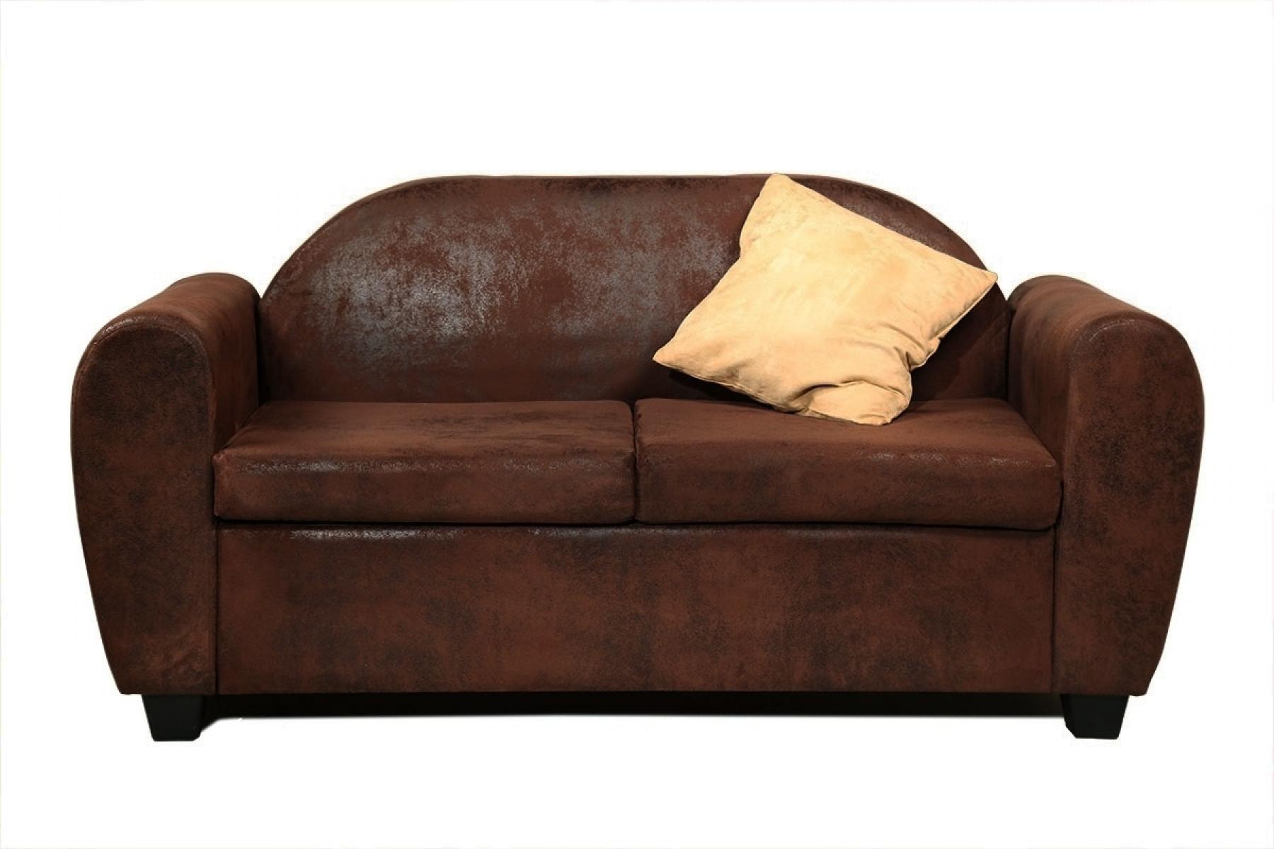 photos canap convertible cuir marron vieilli. Black Bedroom Furniture Sets. Home Design Ideas