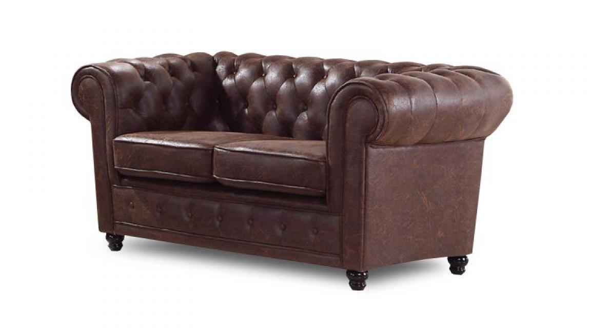 Photos canap chesterfield cuir vieilli pas cher for Canape chesterfield cuir pas cher