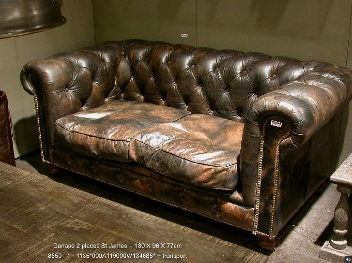 Photos canap chesterfield maison du monde - Canape chesterfield maison du monde ...