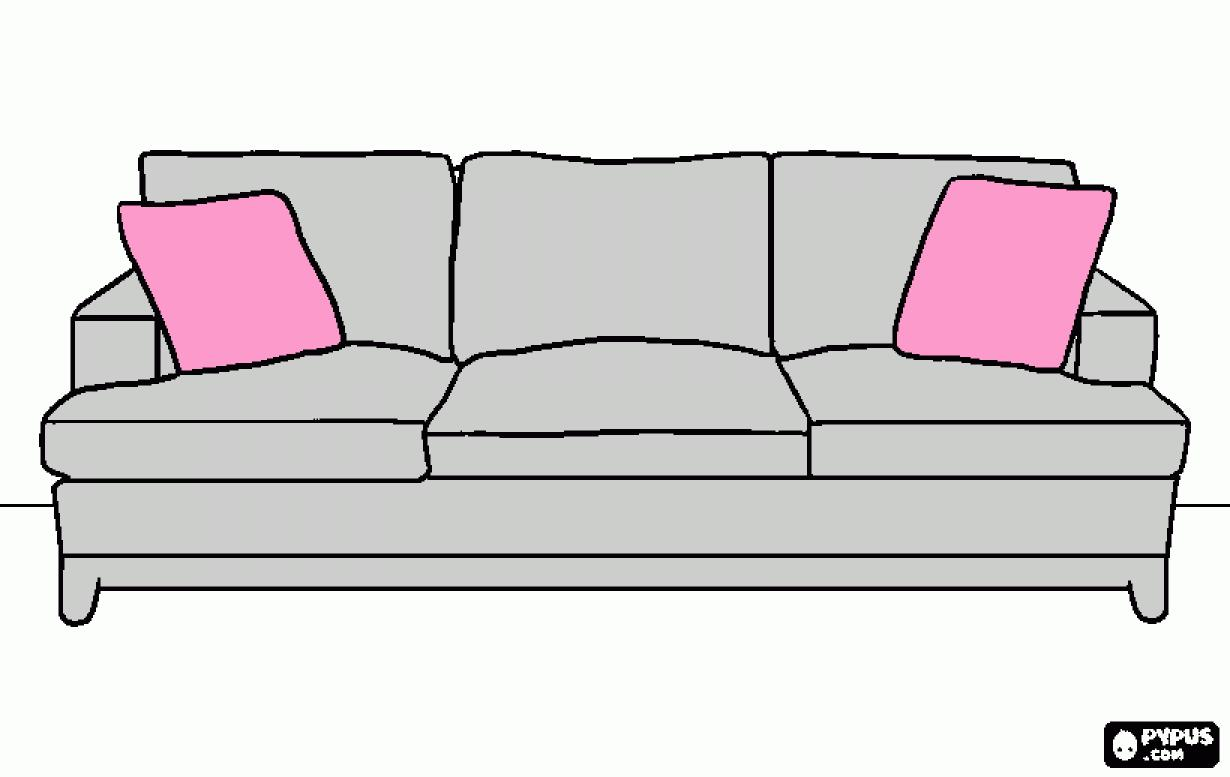 sofa cartoon