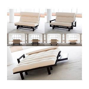 photos canap futon convertible. Black Bedroom Furniture Sets. Home Design Ideas