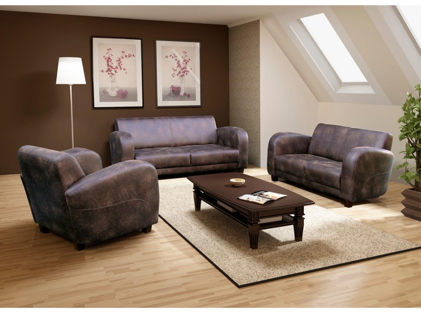 photos canap imitation cuir vieilli. Black Bedroom Furniture Sets. Home Design Ideas