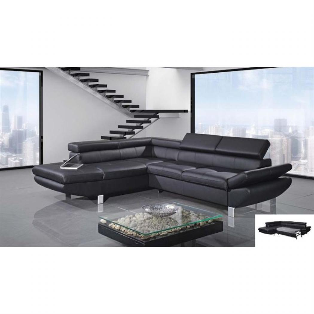 photos canap d 39 angle convertible design. Black Bedroom Furniture Sets. Home Design Ideas