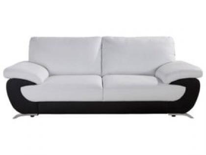 photos canap noir et blanc conforama. Black Bedroom Furniture Sets. Home Design Ideas