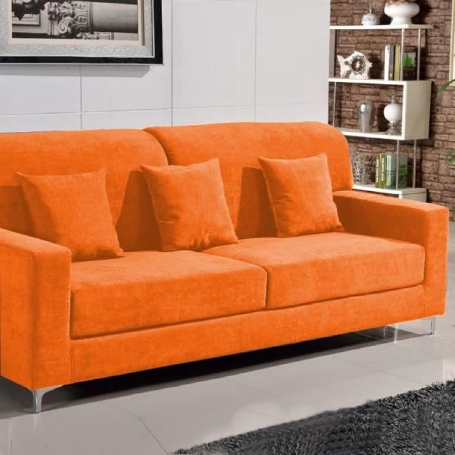 photos canap orange. Black Bedroom Furniture Sets. Home Design Ideas