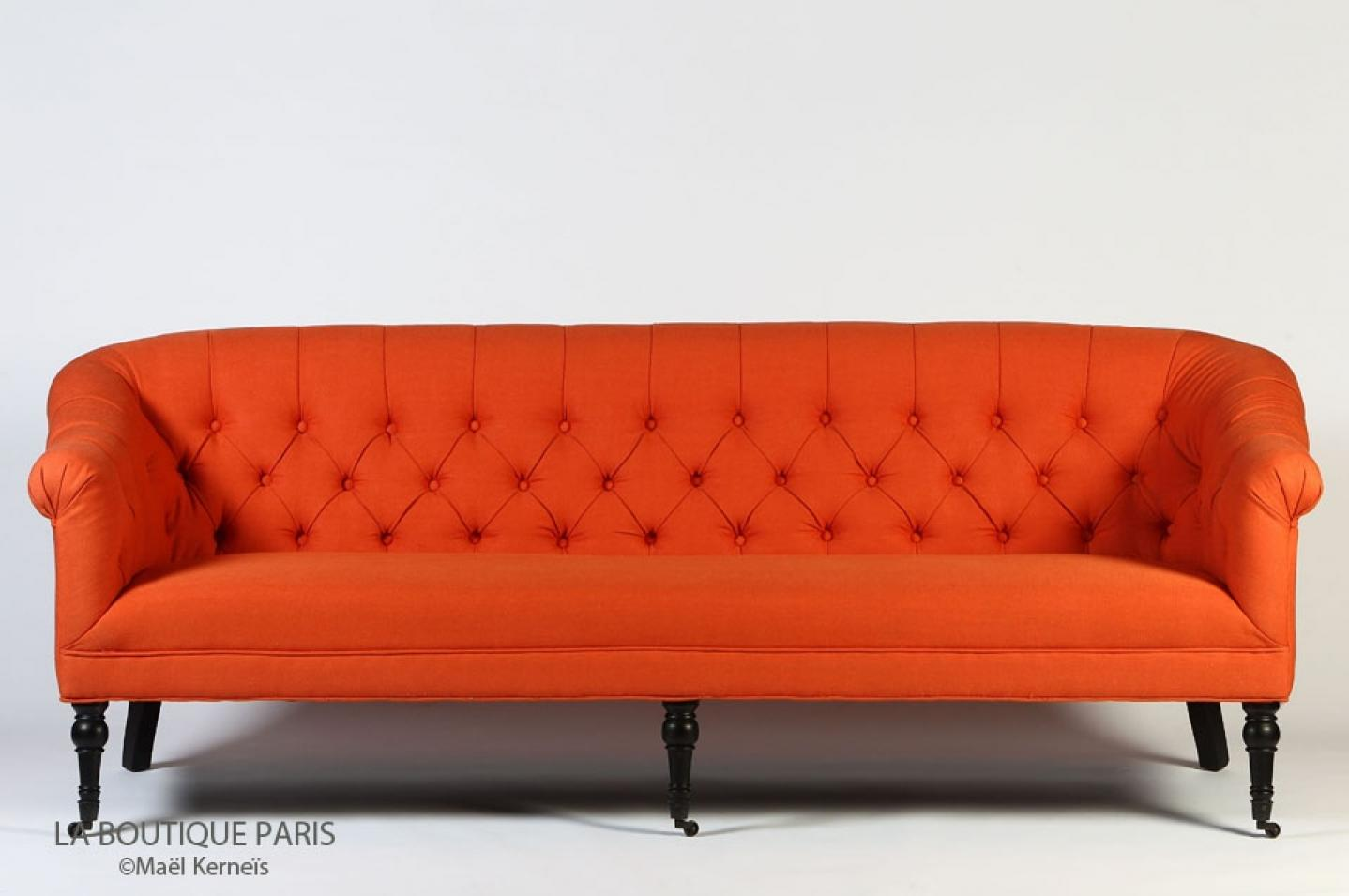 photos canap orange. Black Bedroom Furniture Sets. Home Design Ideas