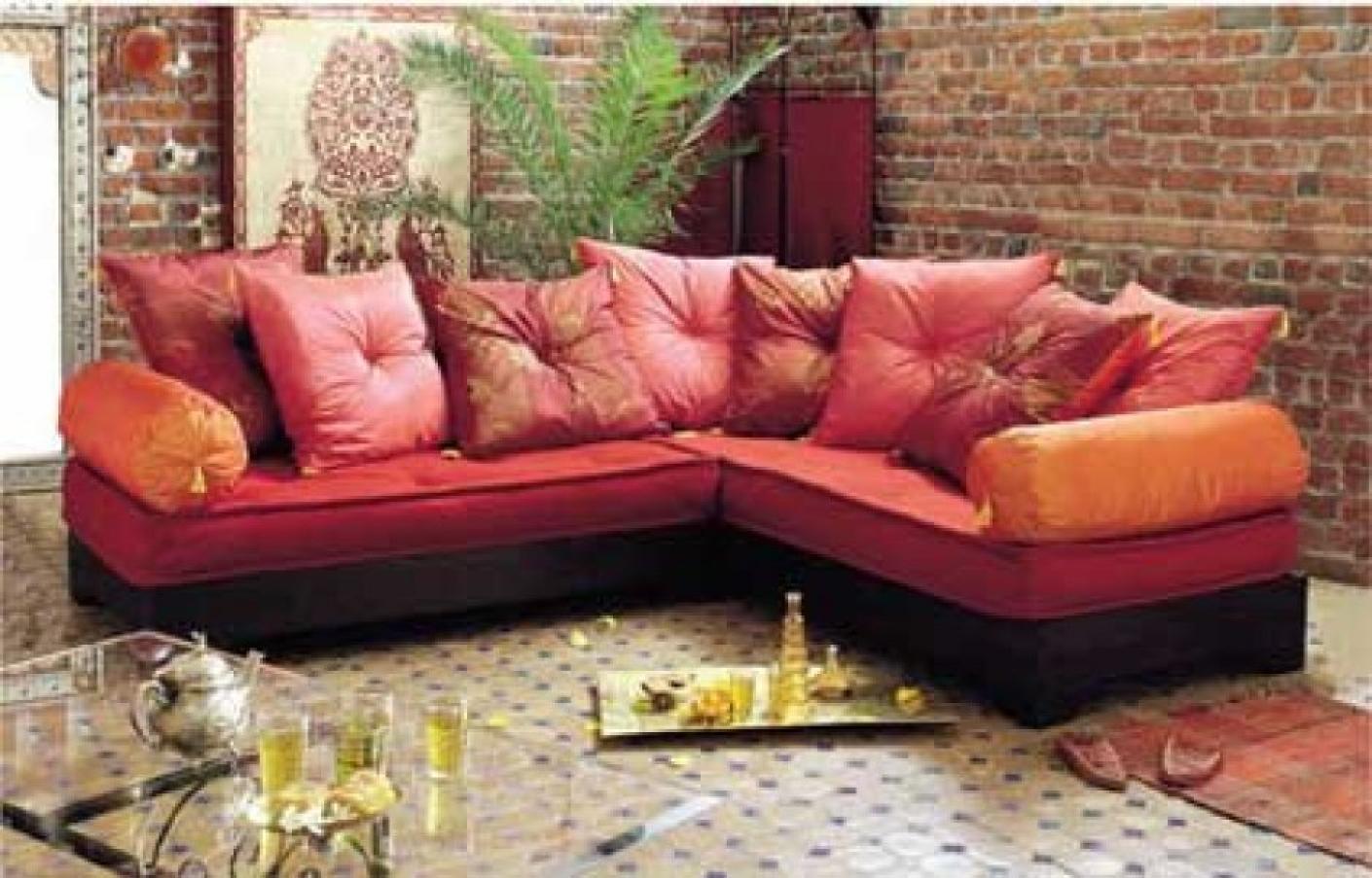 Canap orientale moderne dcoration de salon marocain moderne u comment apporter le climat - Canape oriental moderne ...