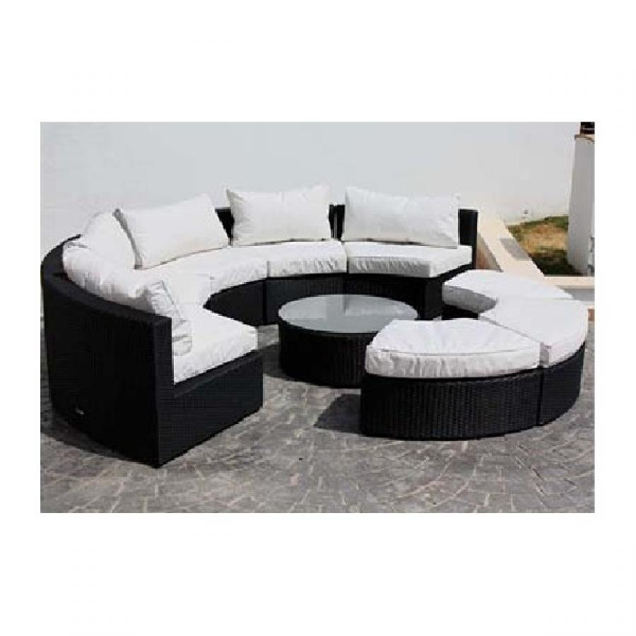 canap rond good canape rond places incroyable canap places tissu taupe cabaret achat vente. Black Bedroom Furniture Sets. Home Design Ideas