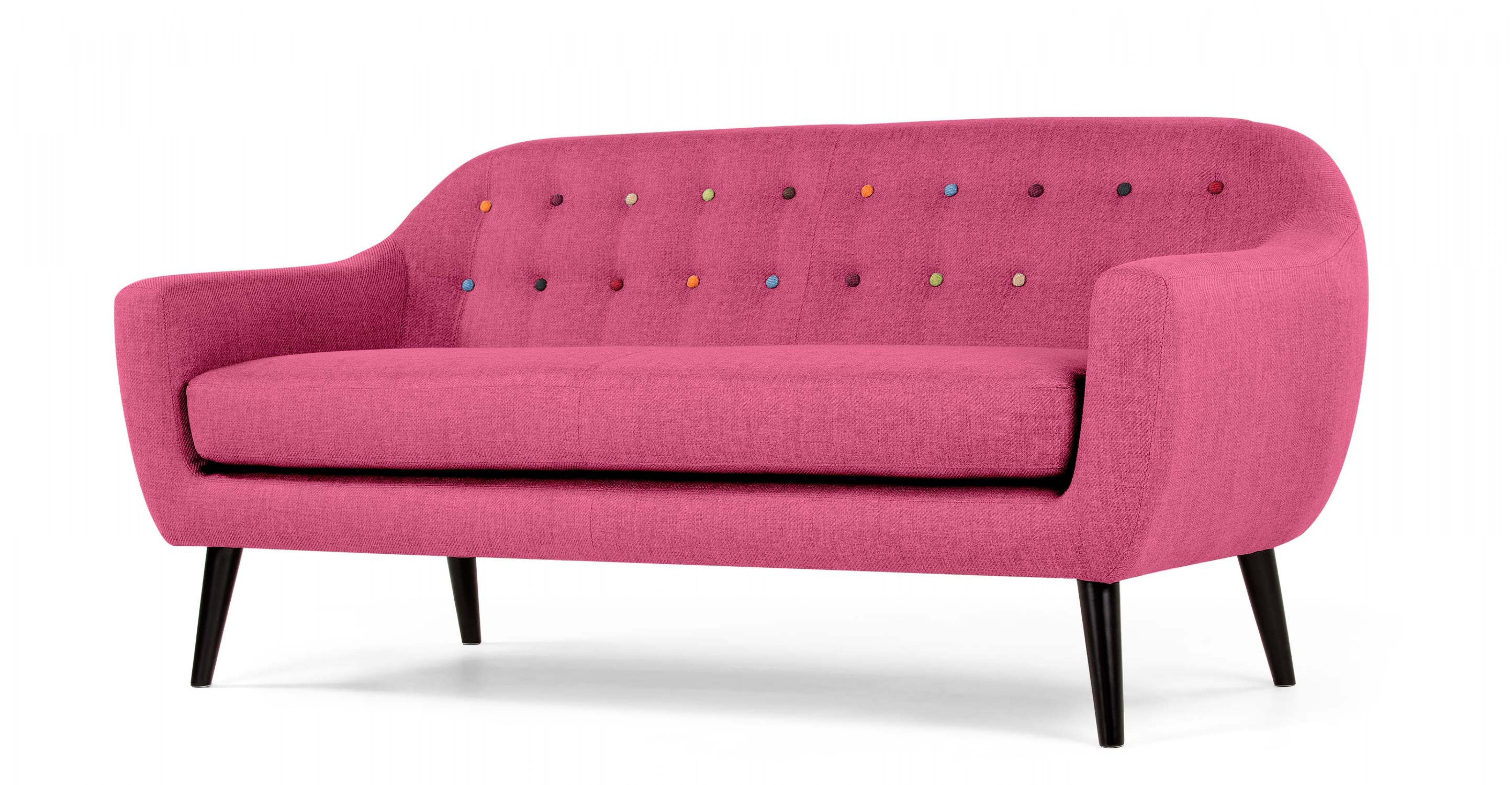canape rose. Black Bedroom Furniture Sets. Home Design Ideas