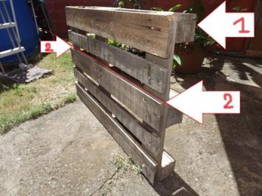 Photos canap palette tuto - Construction salon de jardin en palette ...