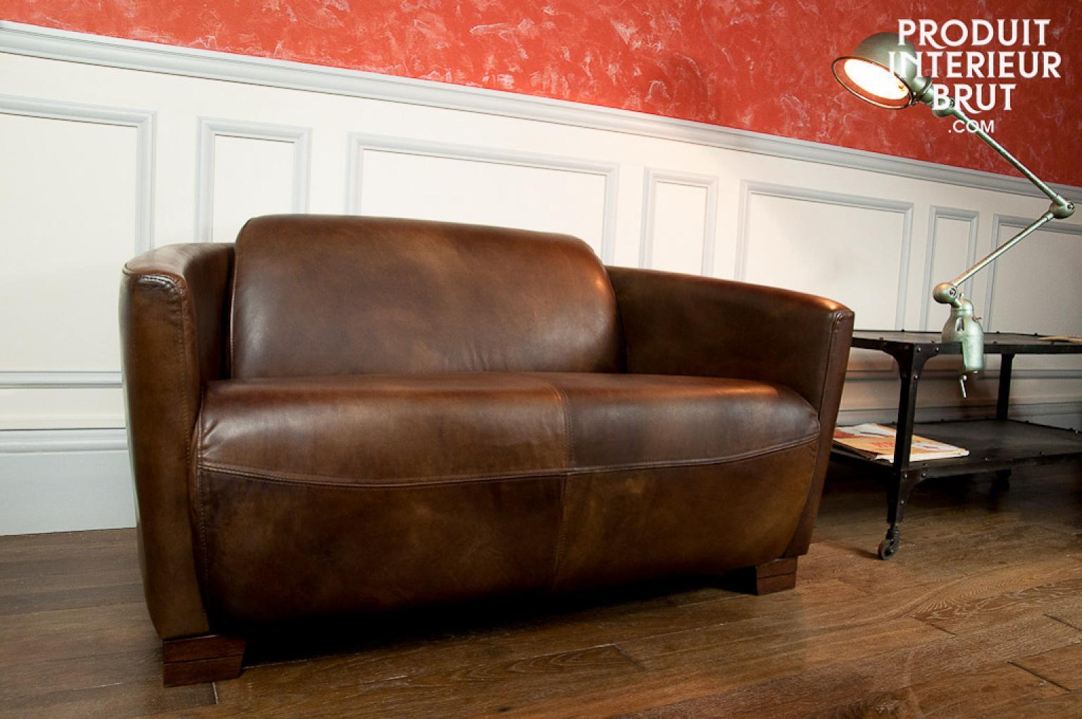 photos canap style industriel. Black Bedroom Furniture Sets. Home Design Ideas