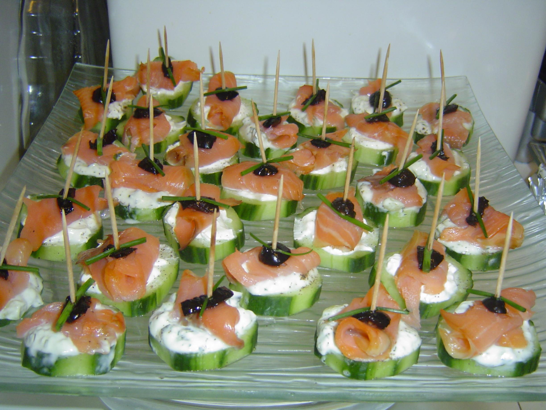 Photos canap saumon fum for Canape saumon