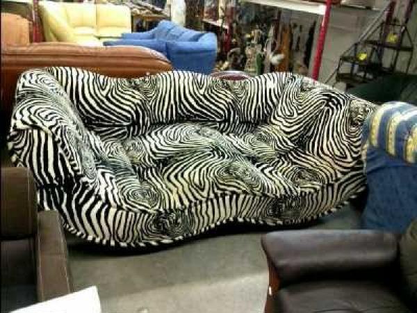 Photos canap zebre for Canape zebre
