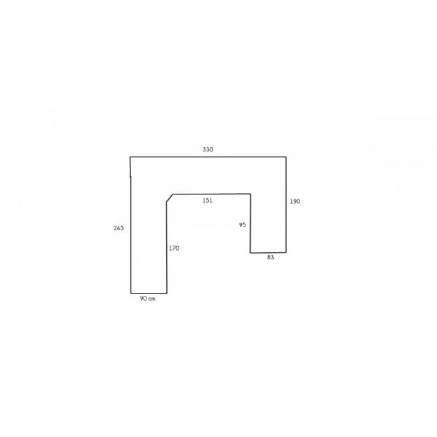 Dimensions Canape 3 Places Maison Design