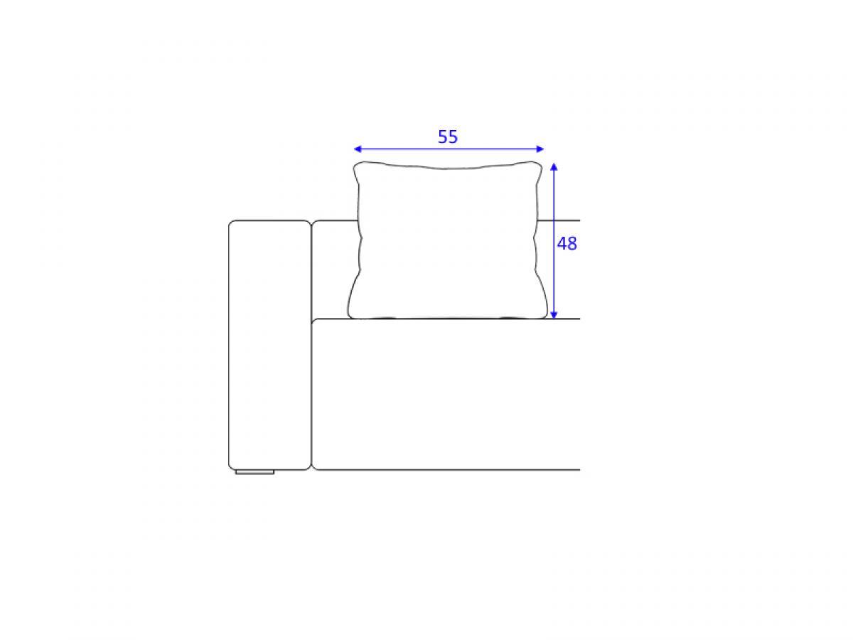 Photos canap 4 places dimensions - Dimension d un canape ...