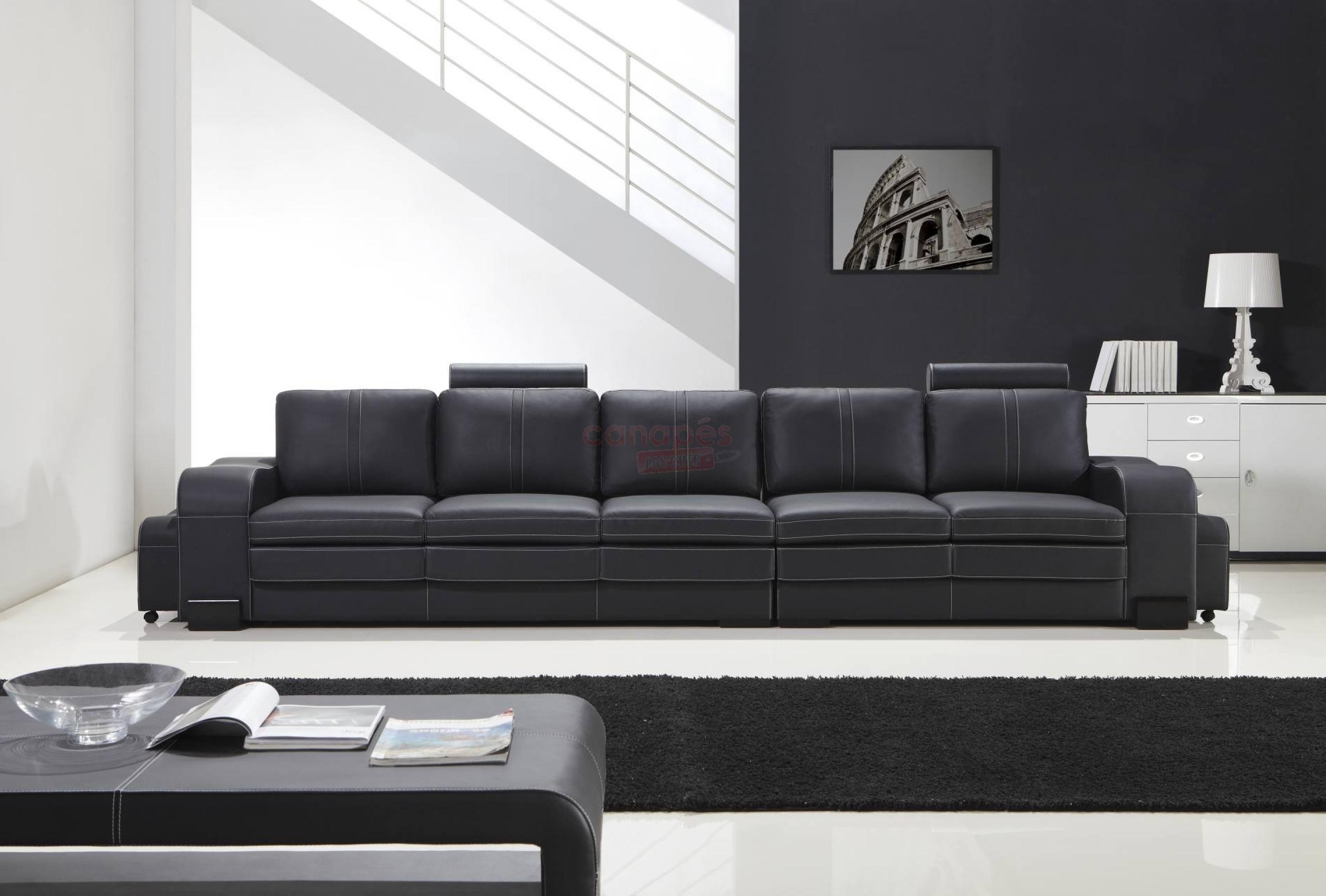 photos canap 5 places droit. Black Bedroom Furniture Sets. Home Design Ideas