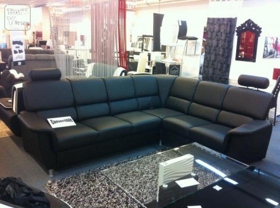 photos canap 5 places convertible. Black Bedroom Furniture Sets. Home Design Ideas