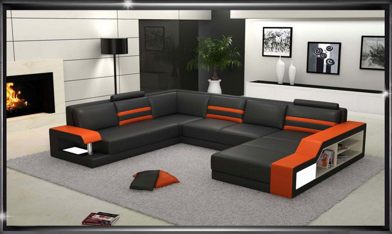 photos canap 6 place. Black Bedroom Furniture Sets. Home Design Ideas