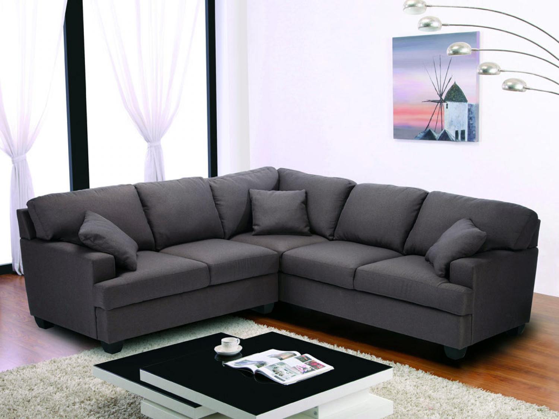 photos canap 8 places tissu. Black Bedroom Furniture Sets. Home Design Ideas