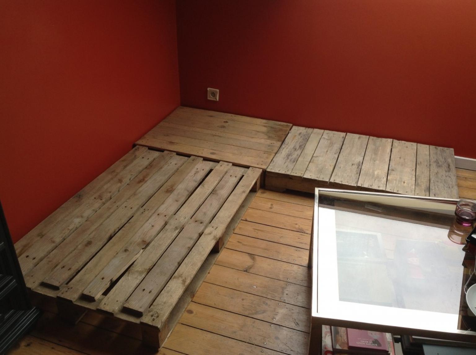 Fabriquer canape d angle en palette maison design - Comment faire un canape en palette ...