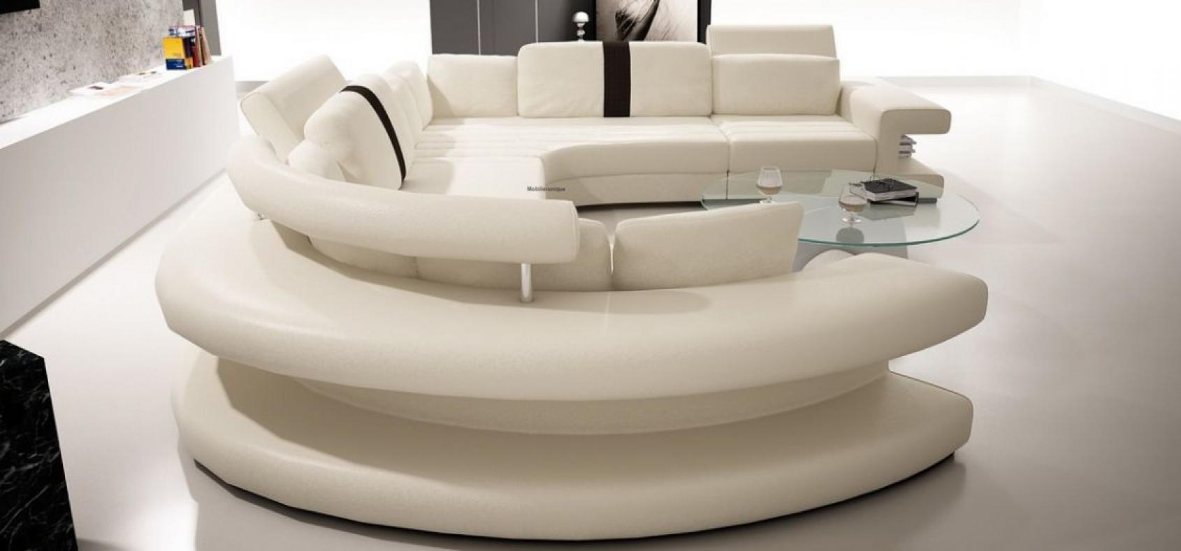photos canap arrondi panoramique. Black Bedroom Furniture Sets. Home Design Ideas