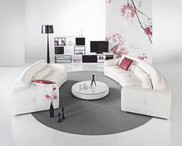 photos canap arrondi design. Black Bedroom Furniture Sets. Home Design Ideas