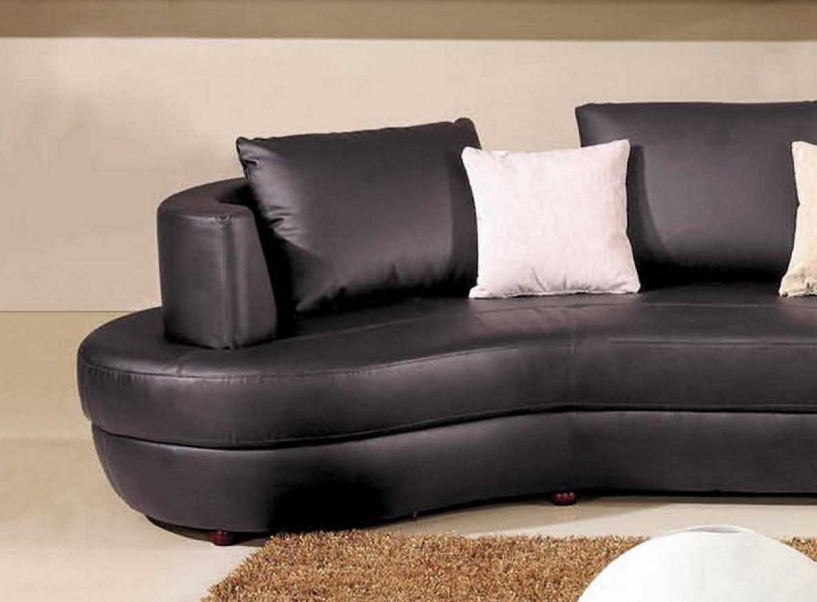 photos canap arrondi cuir. Black Bedroom Furniture Sets. Home Design Ideas
