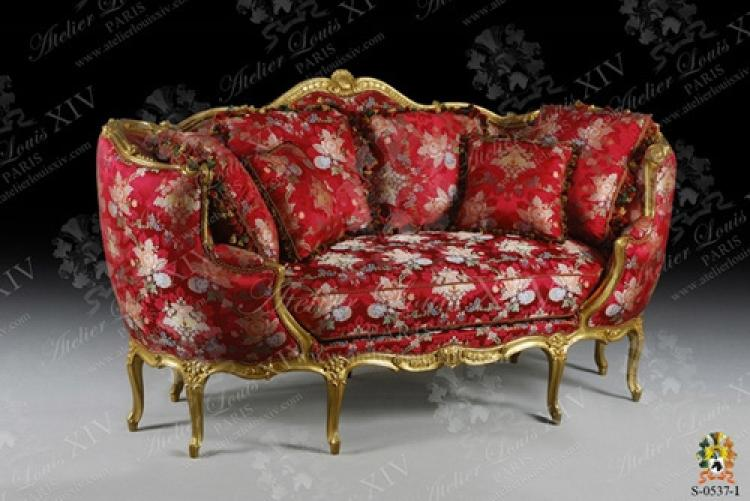 photos canap ancien louis xv. Black Bedroom Furniture Sets. Home Design Ideas