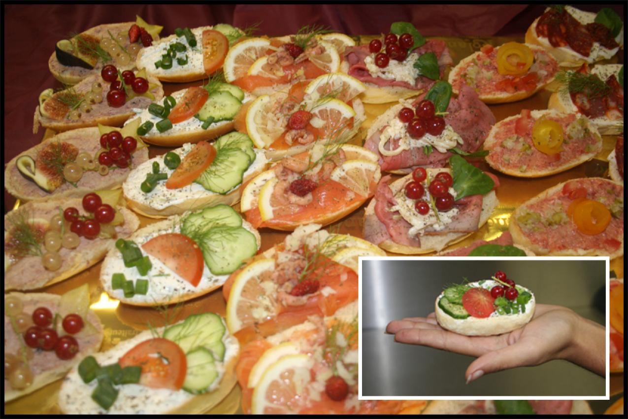 Idee apero noel original photos de conception de maison for Canape aperitif froid