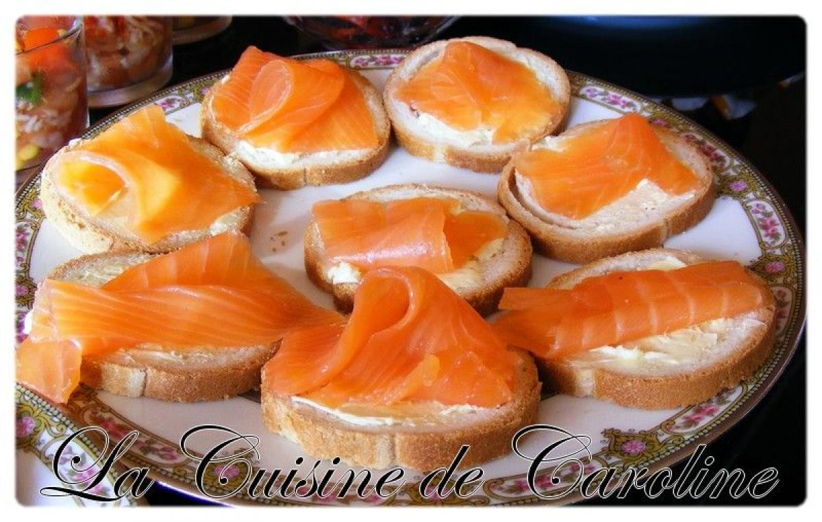Photos canap au saumon fum et mascarpone for Canape saumon fume