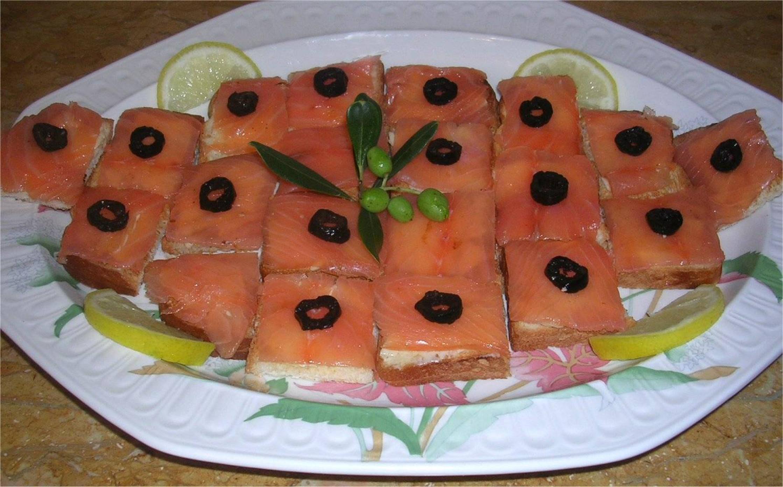 Photos canap au saumon fum for Canape au saumon