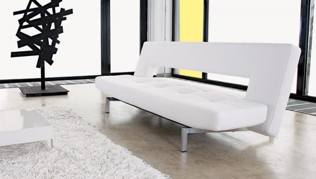photos canap blanc design. Black Bedroom Furniture Sets. Home Design Ideas