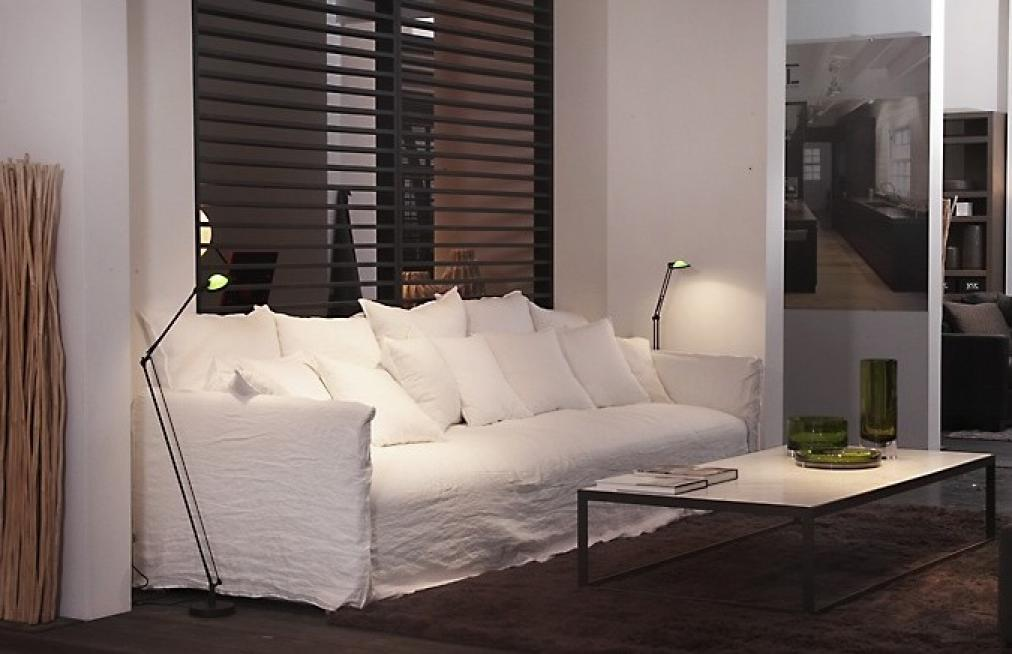 canape blanc tissu. Black Bedroom Furniture Sets. Home Design Ideas
