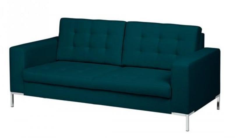 photos canap bleu p trole. Black Bedroom Furniture Sets. Home Design Ideas
