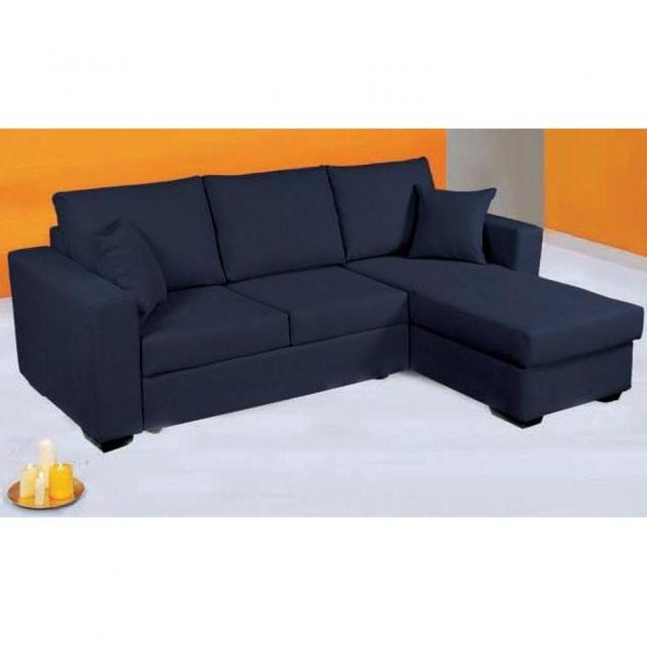 photos canap bleu convertible. Black Bedroom Furniture Sets. Home Design Ideas