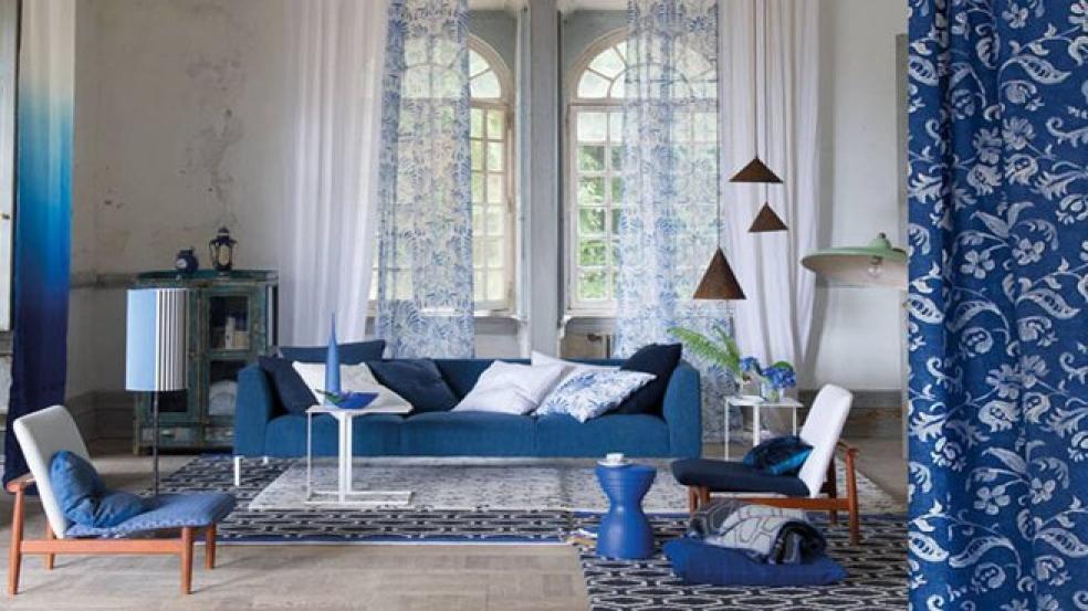 canap bleu roi photos - Canape Bleu