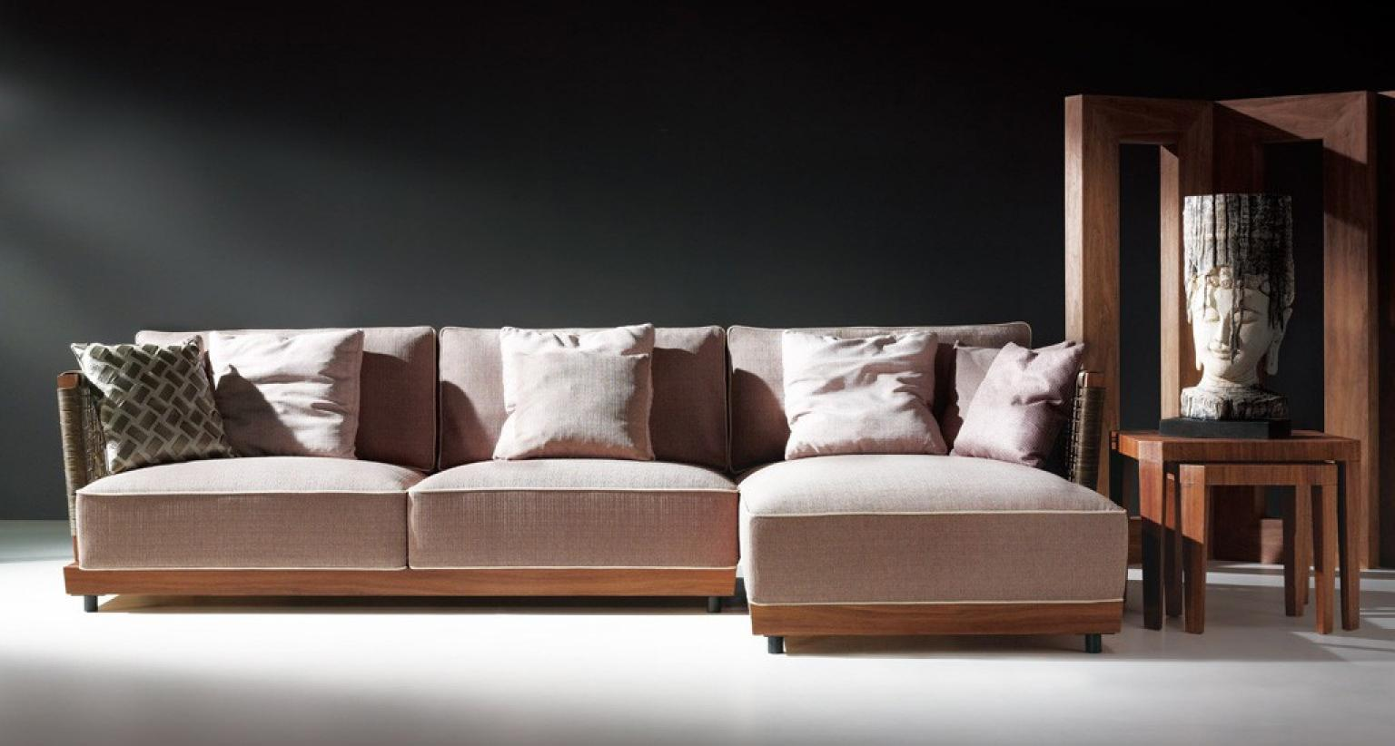 photos canap bois tissu. Black Bedroom Furniture Sets. Home Design Ideas