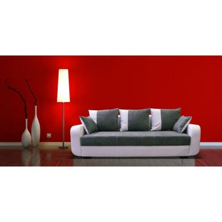 photos canap blanc et gris convertible. Black Bedroom Furniture Sets. Home Design Ideas