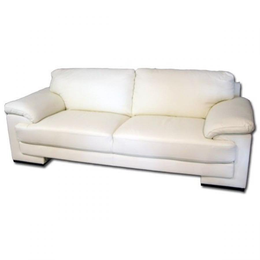 canape angle cuir blanc miliboo canap d 39 angle en cuir blanc avec t t achat vente canap sofa. Black Bedroom Furniture Sets. Home Design Ideas