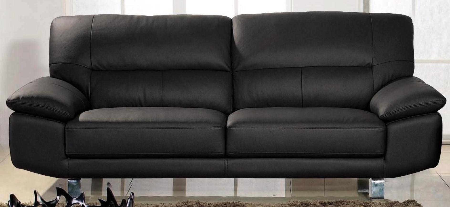 photos canap cuir 3 places. Black Bedroom Furniture Sets. Home Design Ideas