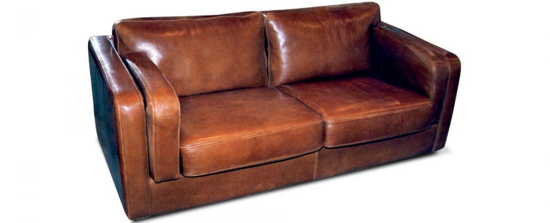 Canapé club cuir 9